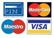 Pinnen en creditcard mogelijk